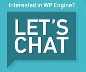 wp engine lets chat