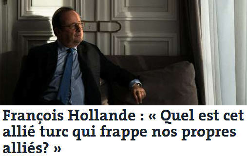 francois hollande reportage syrie