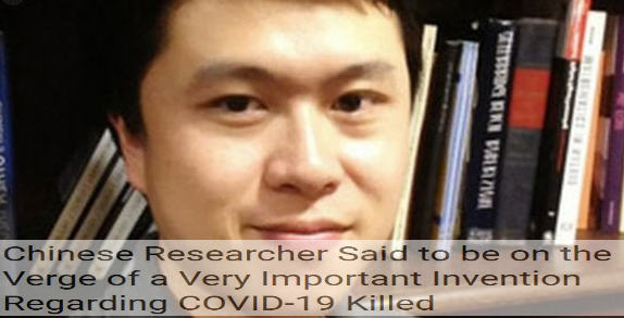 chinese researcher killed